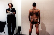 Esther Ferrer: Intimo y Personal, 1998 © Esther Ferrer